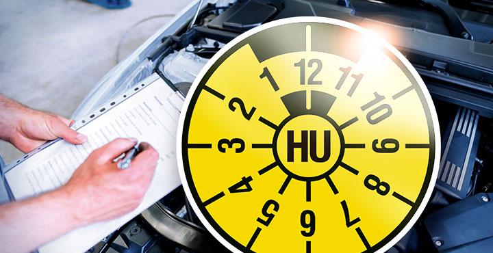 HU-Plakette und Fahrzeugprüfung