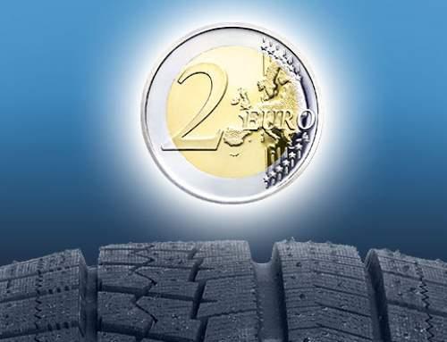 Winterreifen und der 2-Euro-Trick